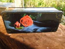 Vintage Cadburys Tin - Milk Chocolate Wafers -  Roses Flowers