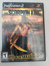 THE SCORPION KING RISE OF THE AKKADIAN (PS2 Playstation 2) No Manual