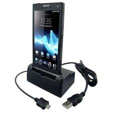 Dockingstation Ladestation (USB) für Sony Xperia S (ohne Netzteil) in schwarz