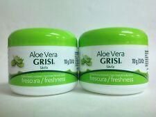 2 CREMAS GRISI CON SAVILA 3.8 oz / GRISI FACE AND BODY CREAM WITH ALOE VERA