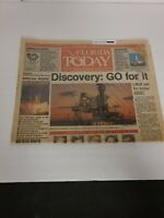 Vintage Newspaper FLORIDA TODAY 1988 - NASA NEWS - Discovery: GO FOR IT