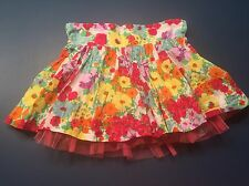 Apollo Floral Layered Skirt For Size 6x Girl C20