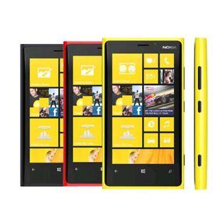 "Unlocked Original Nokia Lumia 920 4G LTE Windows 4.5"" TouchScreen 32GB Cellphone"