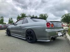 GTR Side Skirts + pads(nismo style) For Nissan Skyline GTS 34, R34,ONLY GTS
