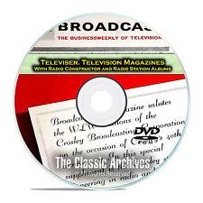 Radio-TV Station Albums Radio Constructor, 651 Old Time Radio Magazines DVD E56