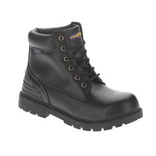 NEW! Goodyear Mens Black Steel Toe Work Boot Maverik Protective Safety Boots 12