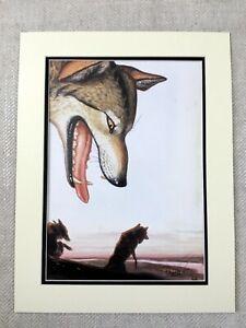Contemporary Art Print Wolf Wolves Landscape Modern American Walton Ford