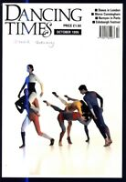DANCING TIMES MAGAZINE 1995 OCT MARTA BARAHONA FIONA LUMMIS RUDOLF NUREYEV
