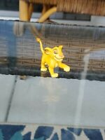 Vintage Disney Figure the Lion King Young Simba Applause PVC Plastic