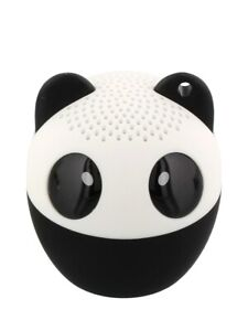 Bluetooth Speaker Panda with Remote Shutter Release White 4.3x4.5cm