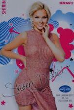 SHIRIN DAVID - Autogrammkarte - Autogramm Fan Sammlung Clippings NEU