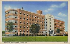 New Albany IN Indiana Silvercrest Hospital Silver Hills Postcard
