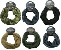 Kombat Army Tactical Snood multi-function headover / neck warmer Various Colours