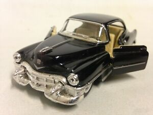 """1953 Cadillac Series 62 Coupe 5"""" inch Diecast 1:43 ,Pull Back Kinsmart Toy Black"""
