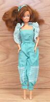 Vintage 1990 Lucky Ind CO LTD Barbie Doll Clone With Lucky ind. Clothes **READ**