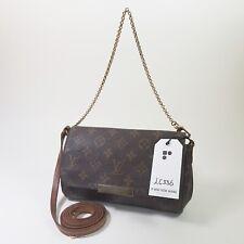 Authentic Louis Vuitton Favorite PM Monogram M40717 Shoulder Clutch Mini LC336