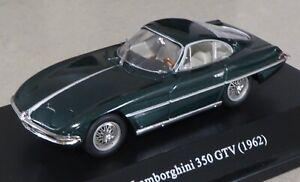 1/43 Lamborghini 350 GTV 1962 1963 - green metallic - lights closed - Starline