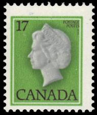 "CANADA 789 - Queen Elizabeth II Definitive ""DF/DF Paper"" (pf66619)"