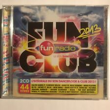 Fun radio Funclub 2013 2 cd neuf sous blister