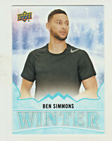 2019-20 Upper Deck Singles Day WINTER #W7 BEN SIMMONS UNSCRATCHED QTY AVAILABLE