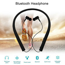Wireless Neckband Sports Bluethooth Headsets Earphones For Huawei iphone X 8 7