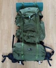 Haglofs Alaska External Frame Backpack Large Long heavy weight exceptional cond
