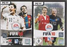 FIFA 10 2010 Calcio Classico + FIFA 08 2008 raccolta giochi pc