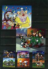 Grenada Grenadines 1996 Walt Disney Holidays Set Of 6 Stamps & 2 S/S Mnh