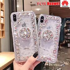 Glitter Bling Caso Diamond Pop Up Supporto per Huawei Honor 20 30 30Pro 20 Lite 9A