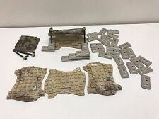 38 MEGA Blocks Call Of Duty And HALO Terrain Parts, Sandbags, & Tent Parts