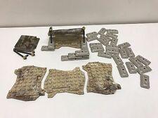 46 MEGA Blocks Call Of Duty And HALO Terrain Parts, Sandbags, & Tent Parts