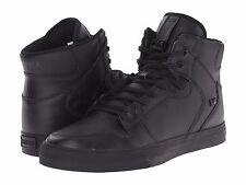 NEW SUPRA VAIDER BLACK BLACK 08201-081 HIP HOP RAP BMX SKATEBOARDING SHOES 12
