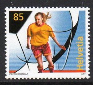 SWITZERLAND MNH 2007 SG1708 European Football Championships