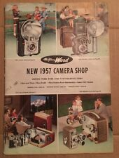 1957 Montgomery Ward Camera Shop Catalog Includes Montgomery Ward Order Blank