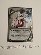 Naruto Tcg/CCG - Foil Sakura Haruno [Chakra Control] - Near Mint