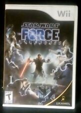 Star Wars The Force Unleashed Nintendo Wii 2008 - US Seller