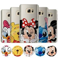 Cute Cartoon Soft Silicone Phone Case Cover Samsung  A3 5 6 J7 S8 S9 Plus Note 9
