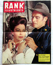 RANK Illustrierte - 55 TAGE IN PEKING - Charlton Heston / Ava Gardner
