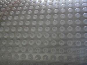 MESH CAVITY DRAIN WATERPROOF TANKING MEMBRANE 2.0M x 18.5M BASEMENT CELLAR