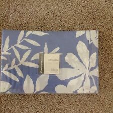Crate & Barrel Marimekko Kakkula BlueTwin Duvet Cover Brand New
