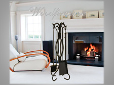FIREPLACE Accessories TOOL SET Fire Tools FIRETOOLS POKER-BRUSH-SHOVEL-TONGS