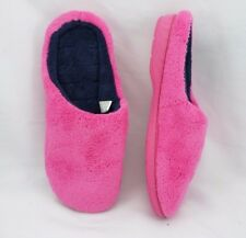 Dearfoams Women's Paradise Pink Medium 7-8 Slippers