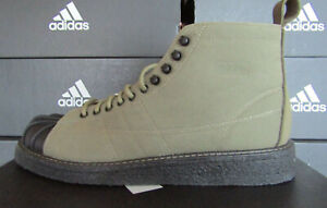 Adidas Superstar Boot Mens Trainers Shoes Size Uk 8.5 Eu 42