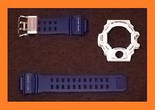GENUINE CASIO G-SHOCK RANGEMAN WHITE GW-9400BTJ-8 BEZEL & BLUE GW9400NV-2 STRAP