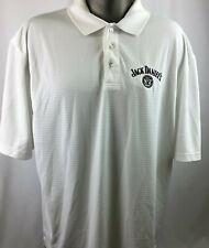 Jack Daniels Old No 7 Polo Shirt Mens Sz 2XL Golf Liquor Drinking Bar Salesman
