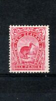 New Zealand 1913 1908 6d Brown Kiwi MH