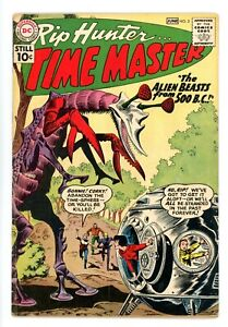 RIP HUNTER TIME MASTER #2  DC 1961 - Ross Andru & Mike Esposito Art - VG