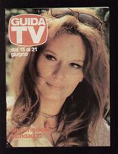 GUIDA TV A. MONDADORI 24/1980 LEA MASSARI RADIO TELE GARDA VIDEO ONDA NORD TRM 2