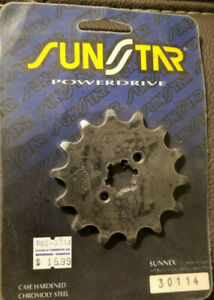 Yamaha YZ125 Front Sprocket SunStar 30114 14T Front Sprocket NOS 1976-1986