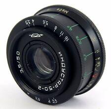 Lens INDUSTAR 50-2 3,5/50 M42 SLR USSR ALMOST GOOD  CONDITION
